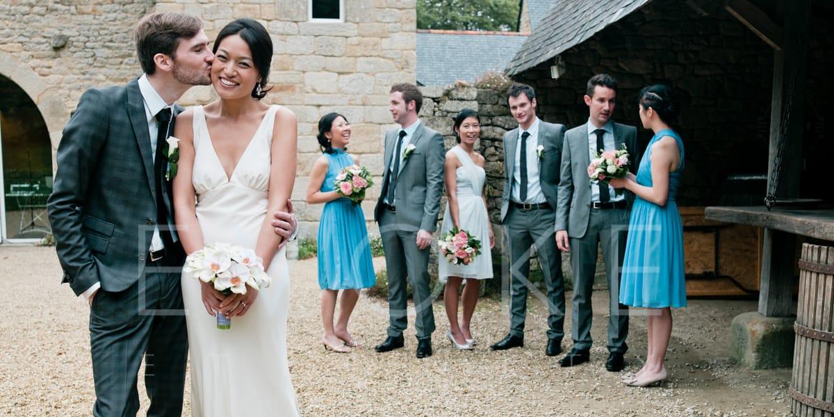 A peck | Wedding Photography | Evoke Eternity