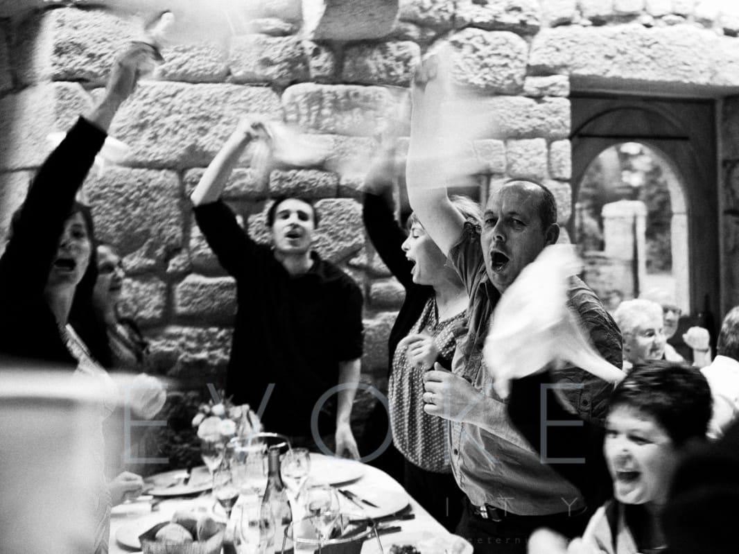 A French wave | Wedding Photojournalistic Photography | Evoke Eternity