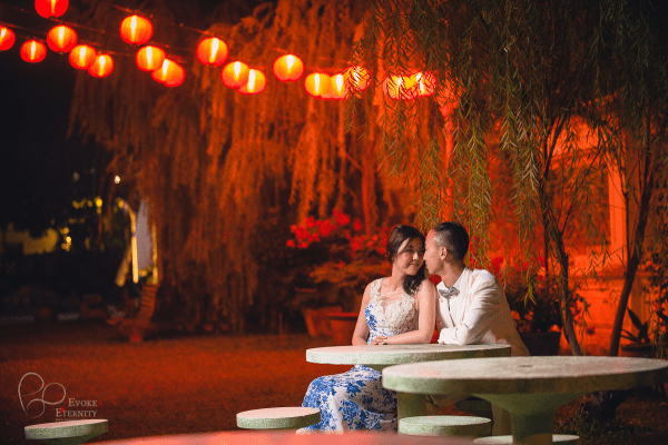 Overseas pre wedding love story in Penang, Malaysia