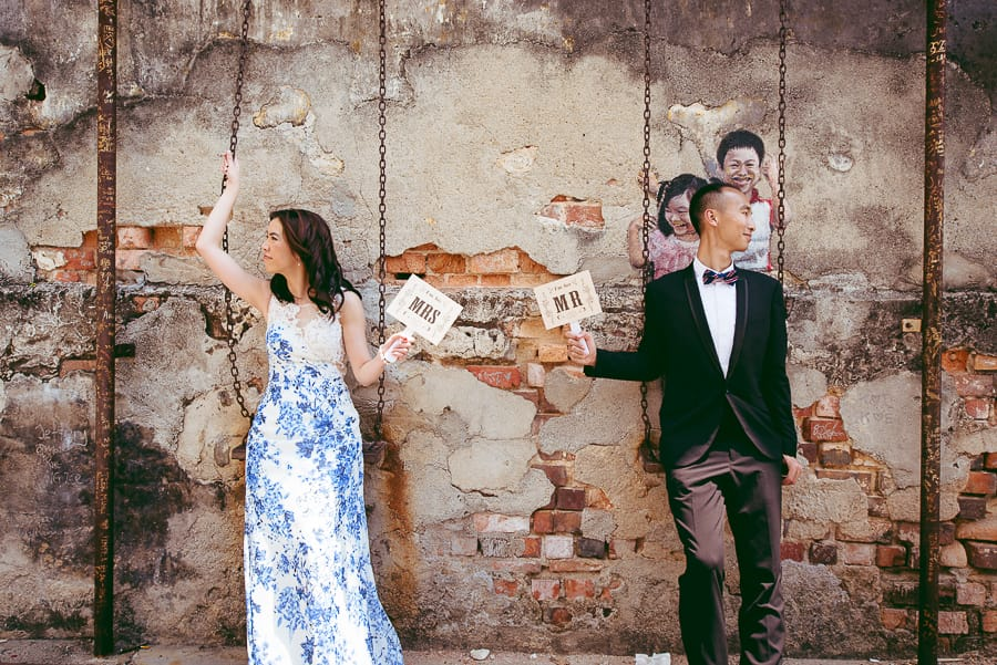 Fiona and Lawrence Overseas Prewedding Photography session in Penang | Photography by Wayne Wong with Evoke Eternity (www.evokeeternity.com)